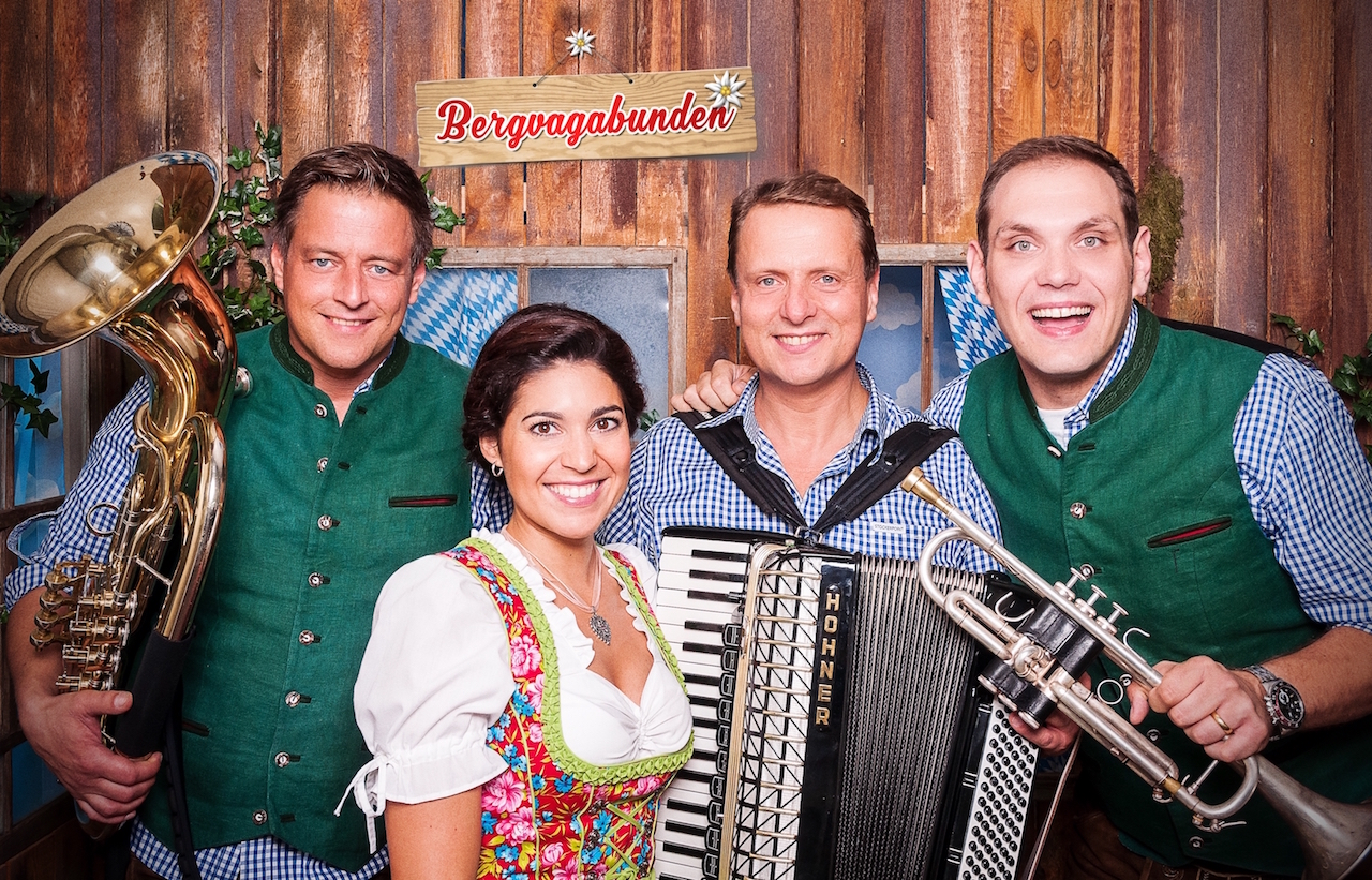 The Bergvagabunden: a bavarian oktoberfest band from Germany (© www.bergvagabunden.com)