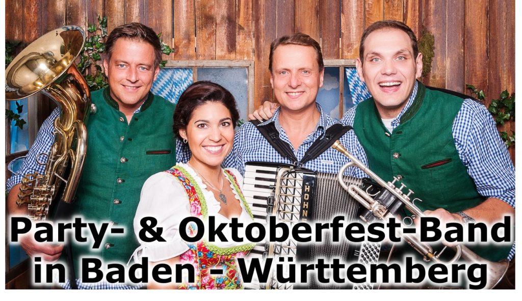Oktoberfest Band Baden Württemberg