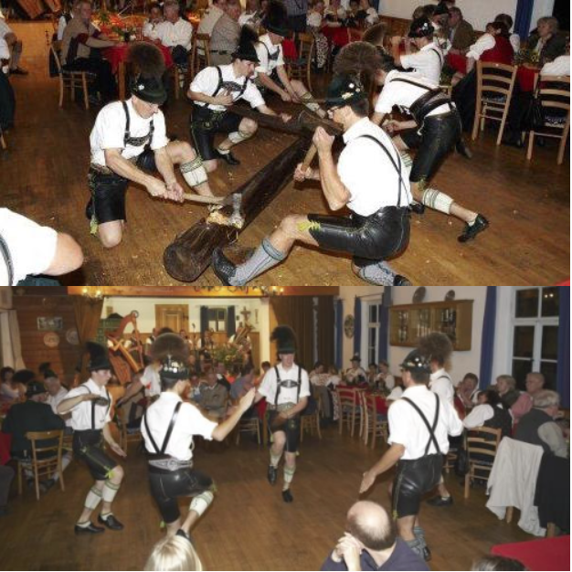 Bavarian show from Germany