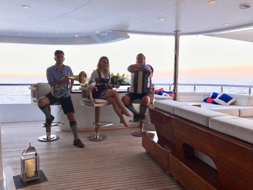Animation yachting Côte d'Azur Monaco Saint Tropez