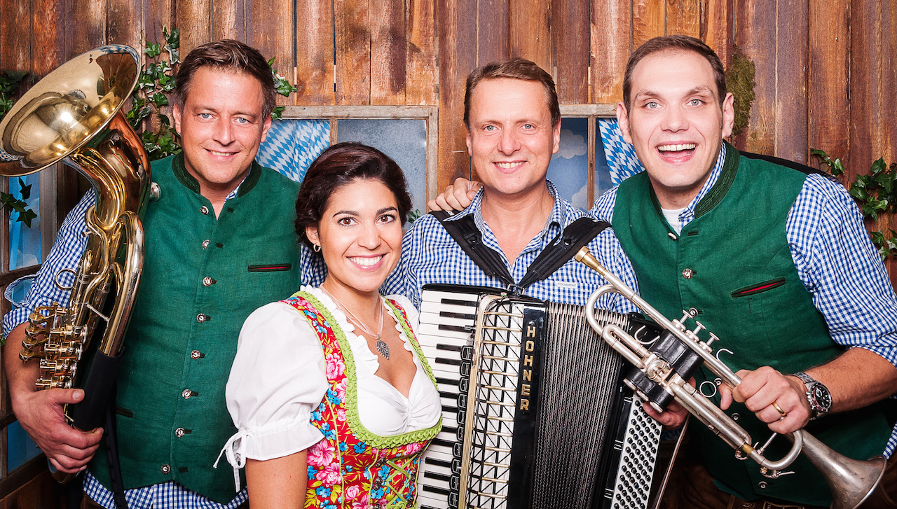 orchestre bavarois oktoberfest soiree choucroute fete de la biere