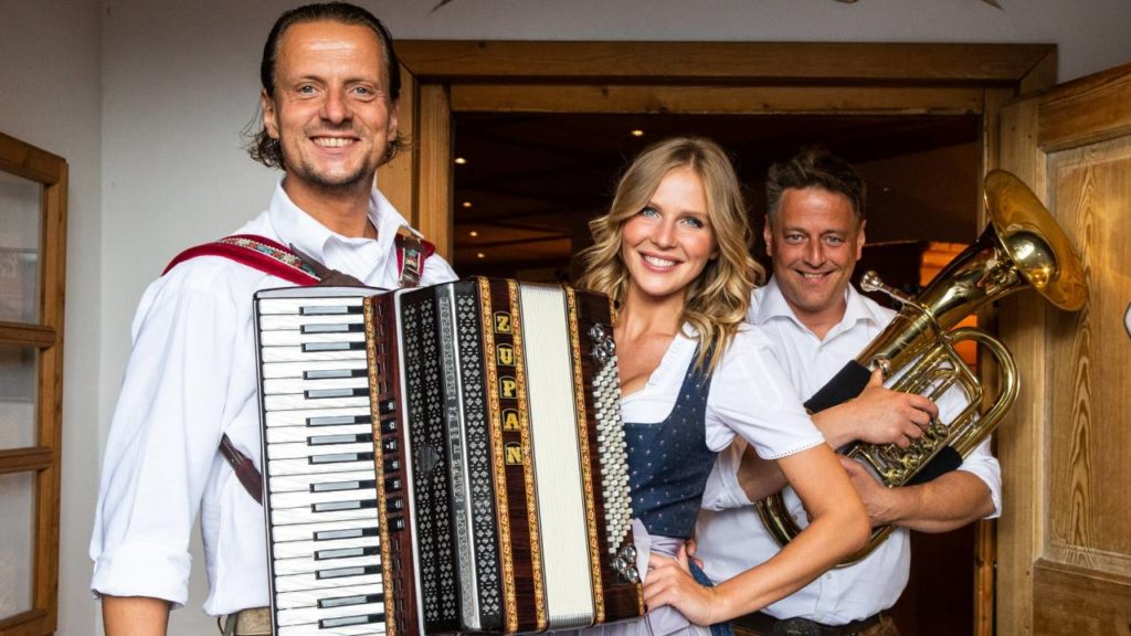 German beerfest band