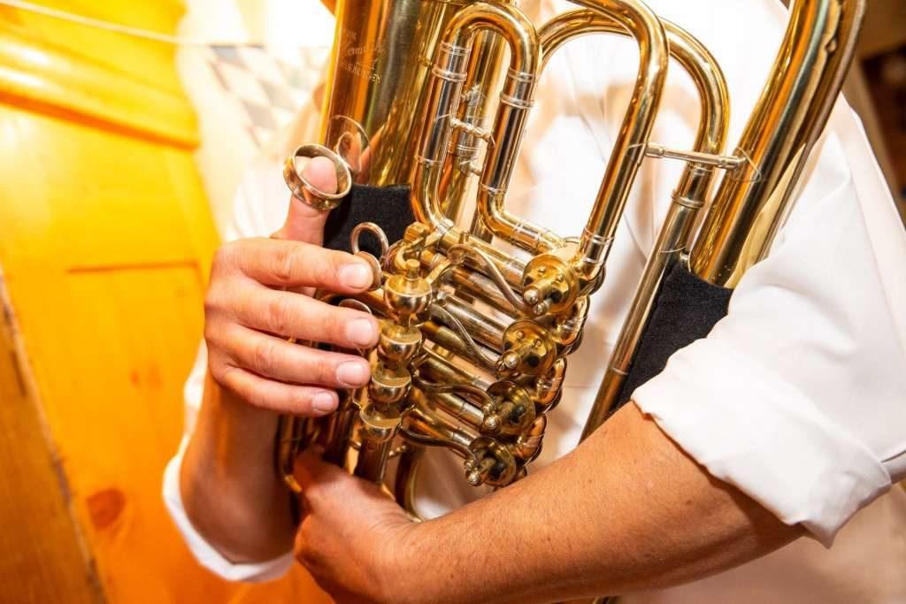 Bavarian oompah band