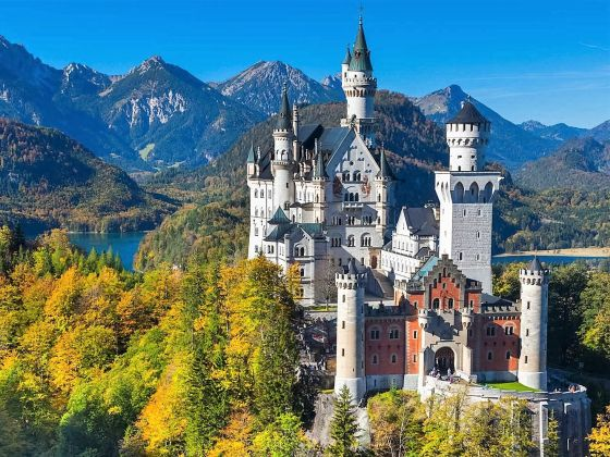 Event venue near Munich: Neuschwanstein castle