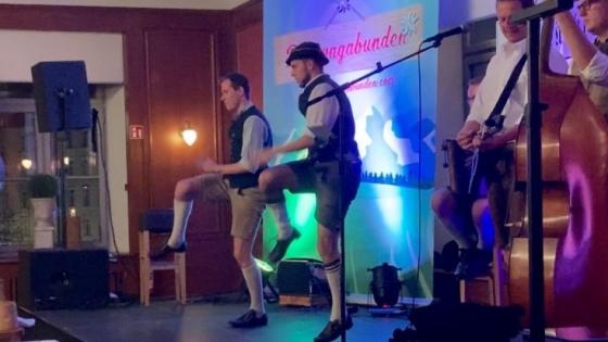 Bavarian dancers
