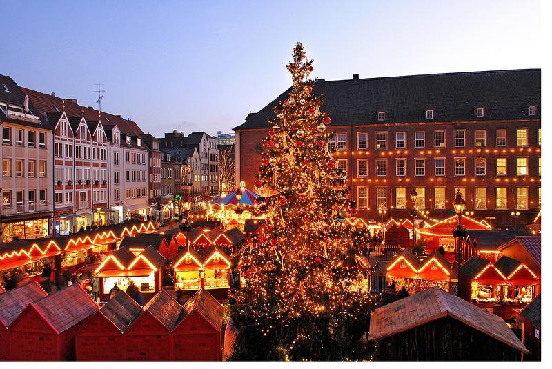 Christmas market Dusseldorf