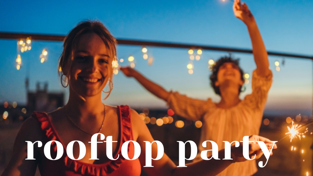 Rooftop party Berlin Munich
