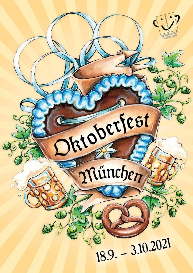 Plakat Oktoberfest 2021