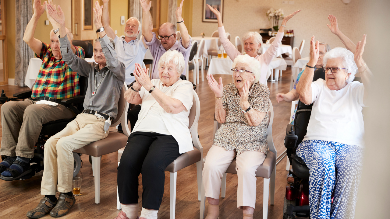 Singen mit Senioren